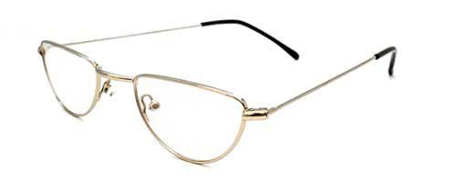 Half Moon Specs Silver
