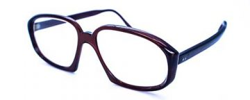 Dark Brown Vintage Plastic Frame