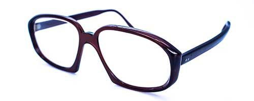 Dark Brown Vintage Plastic Frame 1