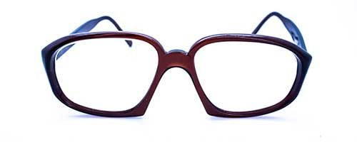 Dark Brown Vintage Plastic Frame 2
