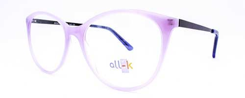 Ladies Lilac Plastic Frame 1