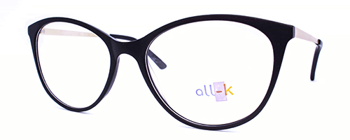 Ladies black Fronted Frame with Gold Sides 1