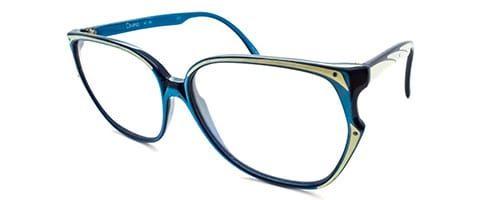 Blue Ladies Plastic 70's Frame 1