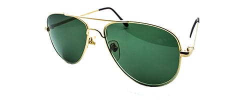 Classic Aviator Sunglasses Gold