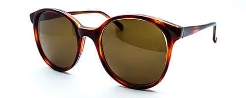 Ladies Tortoise Panto Sunglasses 1