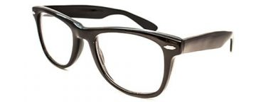 Wayfarer black uni-sex
