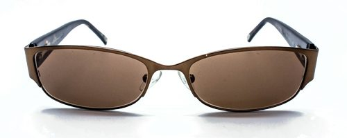 Lulu Guinness L 705 small brown sunglasses 2