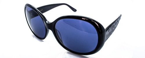 "Lulu Guinness L 482 Jackie ""O"" black sunglasses 1"