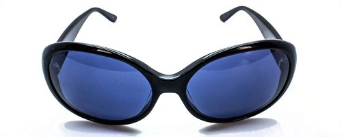 "Lulu Guinness L 482 Jackie ""O"" black sunglasses 2"