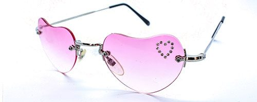 R.O.C. heart shaped sunglasses 1