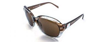 "Miss Sixty MX365-S brown ""smoke"" plastic sunglasses"