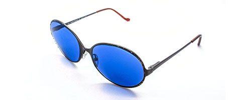 Vivienne Westwood blue tinted sunglasses