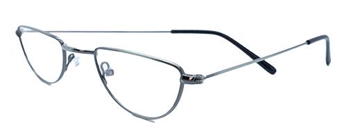 Half Moon Glasses Gunmetal