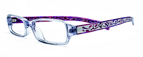 SF404 Crystal front with purple sides 1