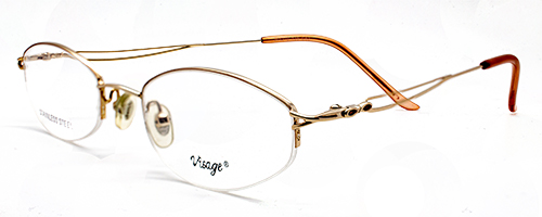 SF418 Visage semi-rimless s/steel 1