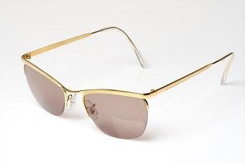 "Kirk Originals ""Milo"" 14kt rolled gold sunglasses"